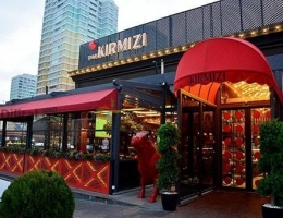 THE KIRMIZI STEAKHOUSE RESTAURANT ISPARTAKULE BİZİMEVLER